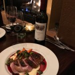 Duck and wine....