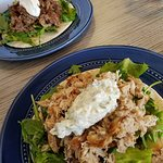 Great souvlaki (lamb or chicken)!