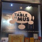 Foto de La table de mus