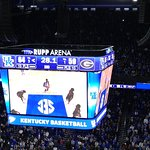 Rupp Arena shares a roof and a walkway with the Hyatt Regency!