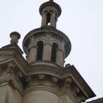Détail d'une tourelle de l'église
