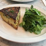 Bacon, Swiss Chard Quiche