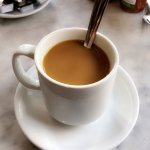delicious cafe au lait