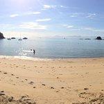 beautiful morning at keitereteri beach