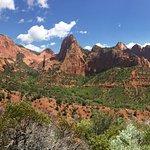 More panorama of Kolob Canyon
