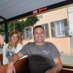 salita con trenino Madonna del Sasso lago d'Orta