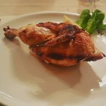 Pollo al cestello cotto a forno a legna