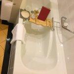Sofitel Siem Reap suite bathtub