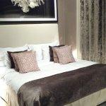 Lit très confortable au Lydmar Hotel