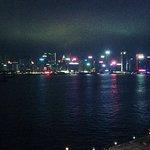 維多利亞港的美景