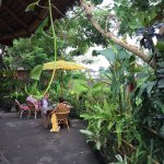 Yellow Flower Cafe outdoor area