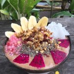 Amazing raw cacao energy bowl