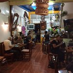 Evening at  restaurant Trat Thailand