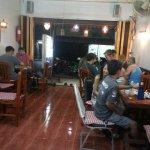 Thai and farang customers at Orchid restaurant