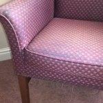 Chair was worn
