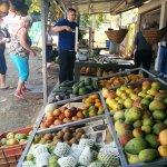 Local fruit vendor.