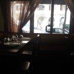 L'affaccio del ristorante su via Salaria