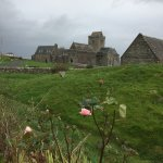 Iona Abbey in October
