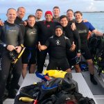 Diving with Jose