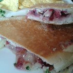 Bacon, Brie and Cranberry Panini