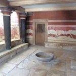 Knossos Archaeological Site Foto