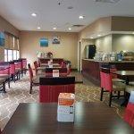 Newly Remodeled Lobby/Breakfast Area