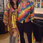 Some photos from sheila's 60 th birthday. Seventies themed