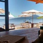 Mesas com vista para Baía de Canto Grande!