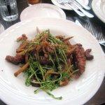 General Tso's Chicken Salad w/ Spicy Cashews