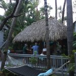 The Tiki bar....