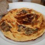 Mushroom Omelette Breakfast Option