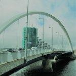 Billede af Clyde Arc Bridge