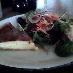 Cheese & Onion Flan