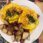 Jaybird's Restaurant - eggs benedict