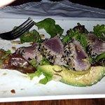 Seared Sesame crusted Tuna!!! I ate half before I took photo!!! The best food ever!