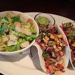 Jack Fruit Tacos and Guacamole