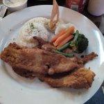 La comida Excelente, Filete de Pescado, Fresco y delicioso.