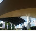 Outdoor dining at the QPAC Bistro