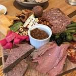 Charcuterie board & wonderful bread