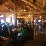 dining room at Pine Creek Cookhouse