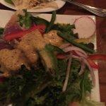 ahi and avocado salad