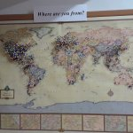 World visitor map