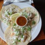 Fish Tacos at Sly McFly's