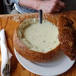 Clam Chowder at Sly McFly's