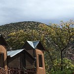 Chimayo in the rain