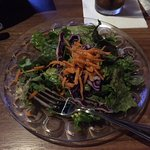 House salad with balsamic vinegarette