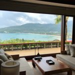 View of Kemala beach from Master living room