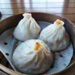 The crab Xiao Long Bao were especially nice.