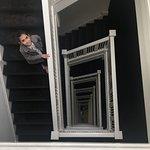 A famosa escada