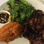 Chicken hibachi set.